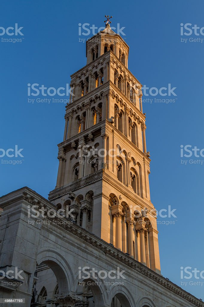 The Cathedral of Saint Duje stock photo