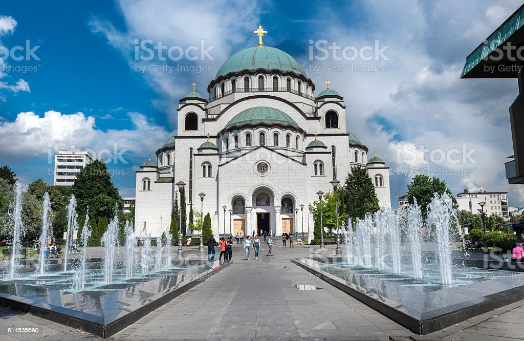 La Cathédrale Saint Sava - Photo