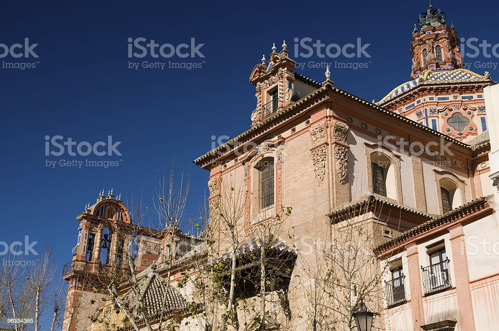 The Cathedral of Seville royalty-free stock photo