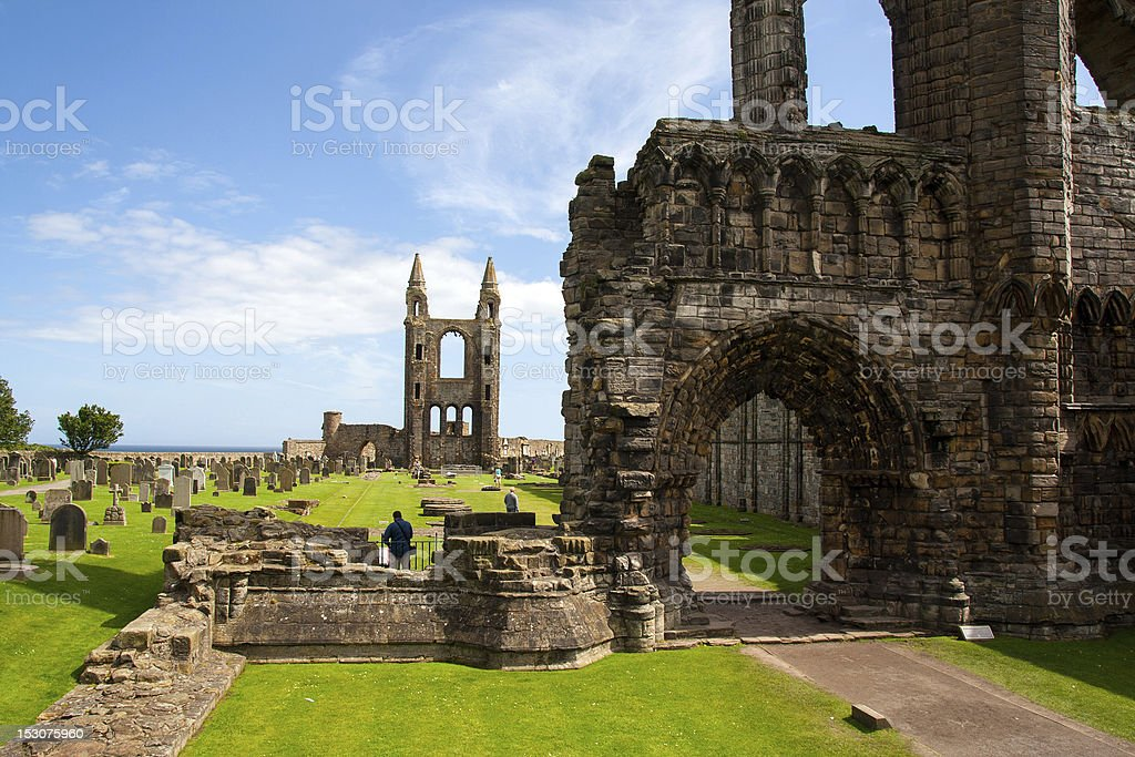 The Cathedral of St Andrew stock photo