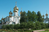 PERESLAVL-ZALESSKY, RUSSIA, St. Nicholas convent, The Cathedral Of St. Nicholas and The Church of the beheading of John the Baptist