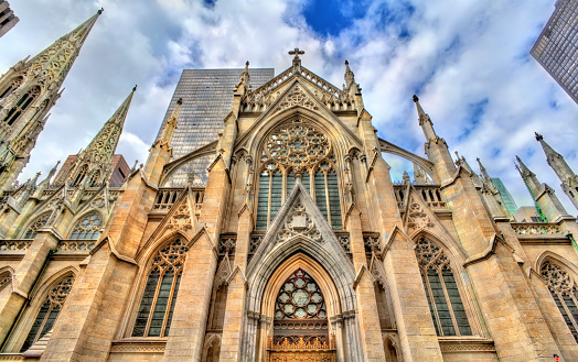 istock The Cathedral of St. Patrick in Manhattan, New York City 814651150