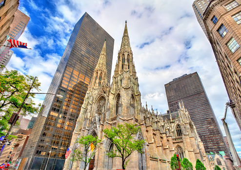 istock The Cathedral of St. Patrick in Manhattan, New York City 814651502
