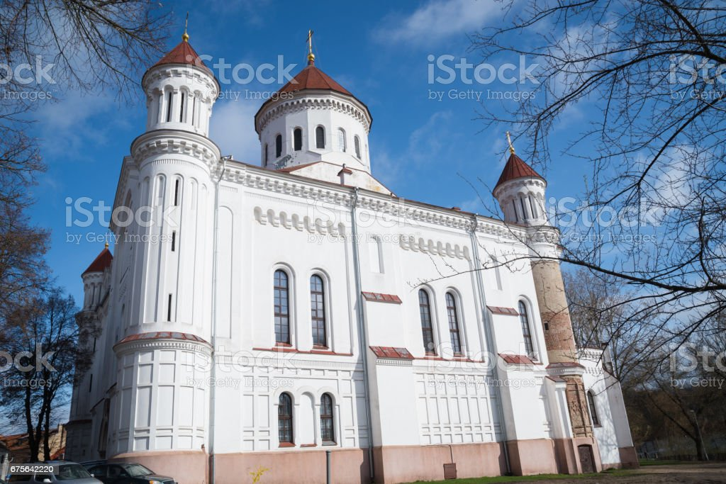 The Cathedral Of The Most Pure Mother Of God, Vilnius royalty-free stock photo