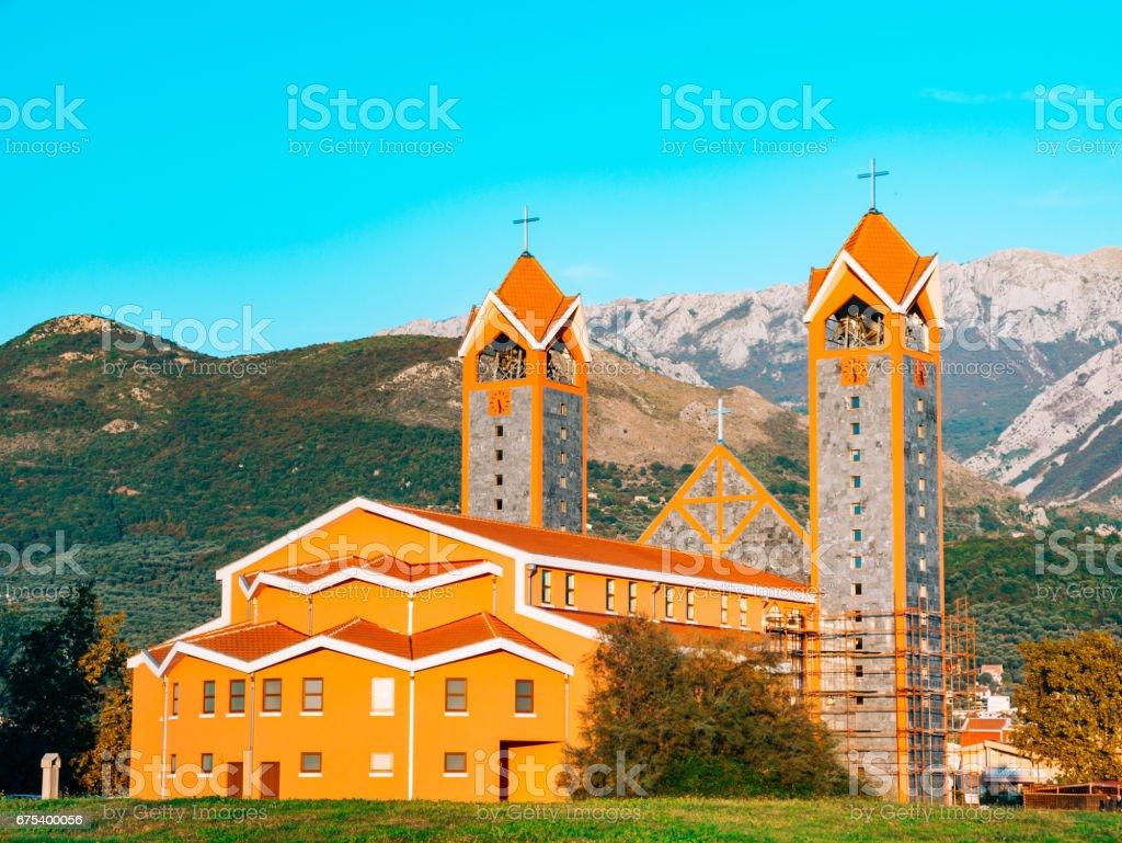 The Catholic Church, Bar, Montenegro royalty-free stock photo