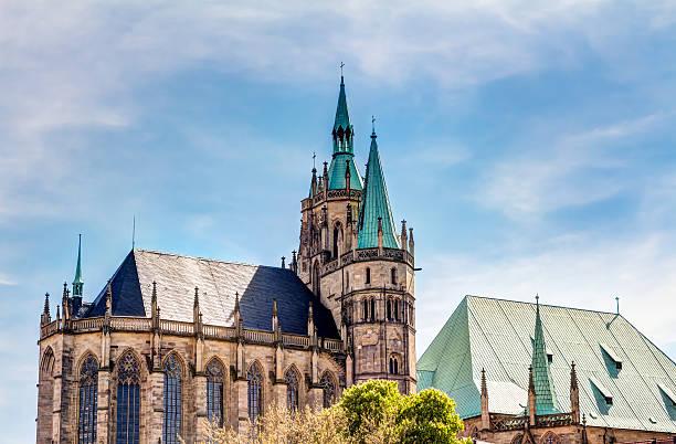 Die katholische Kathedrale von Erfurt – Foto