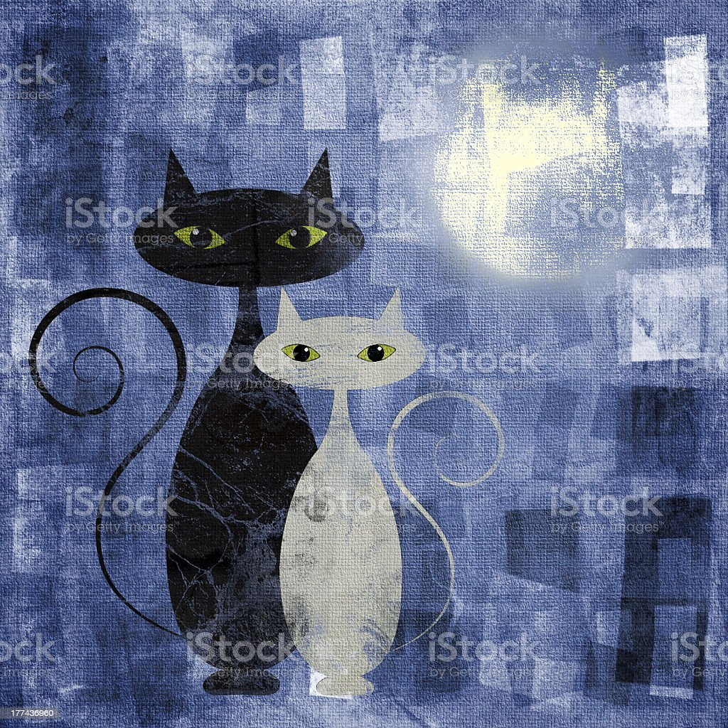 The Cats royalty-free stock photo