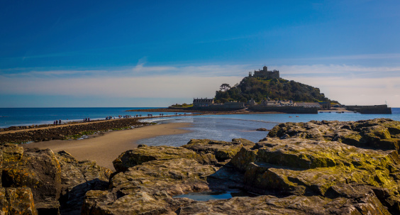The Causeway to St Michel's Mount