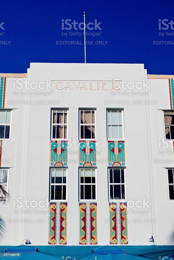 The Cavalier Hotel In South Beach, Miami stock photo