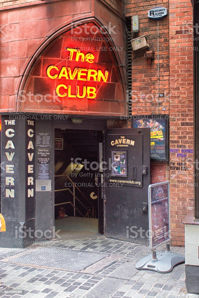 The Cavern club stock photo