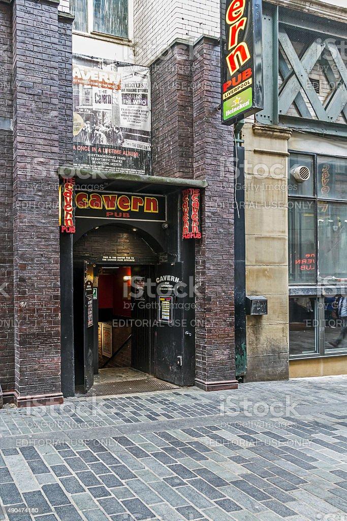 The Cavern, Liverpool stock photo