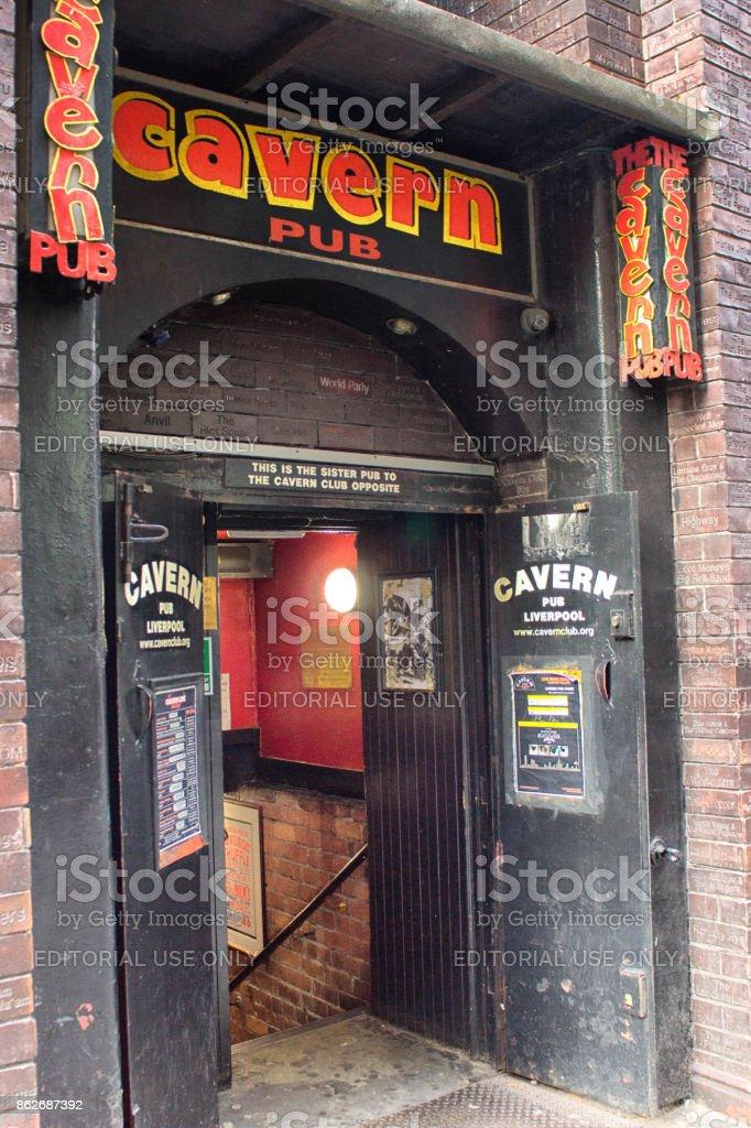 The Cavern pub stock photo