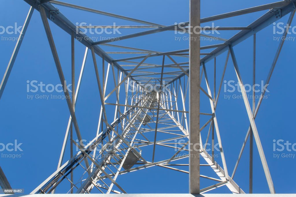 the cell tower stock photo