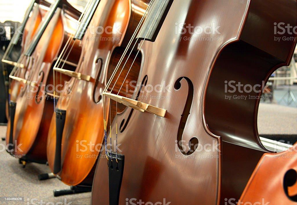 The Cellos stock photo