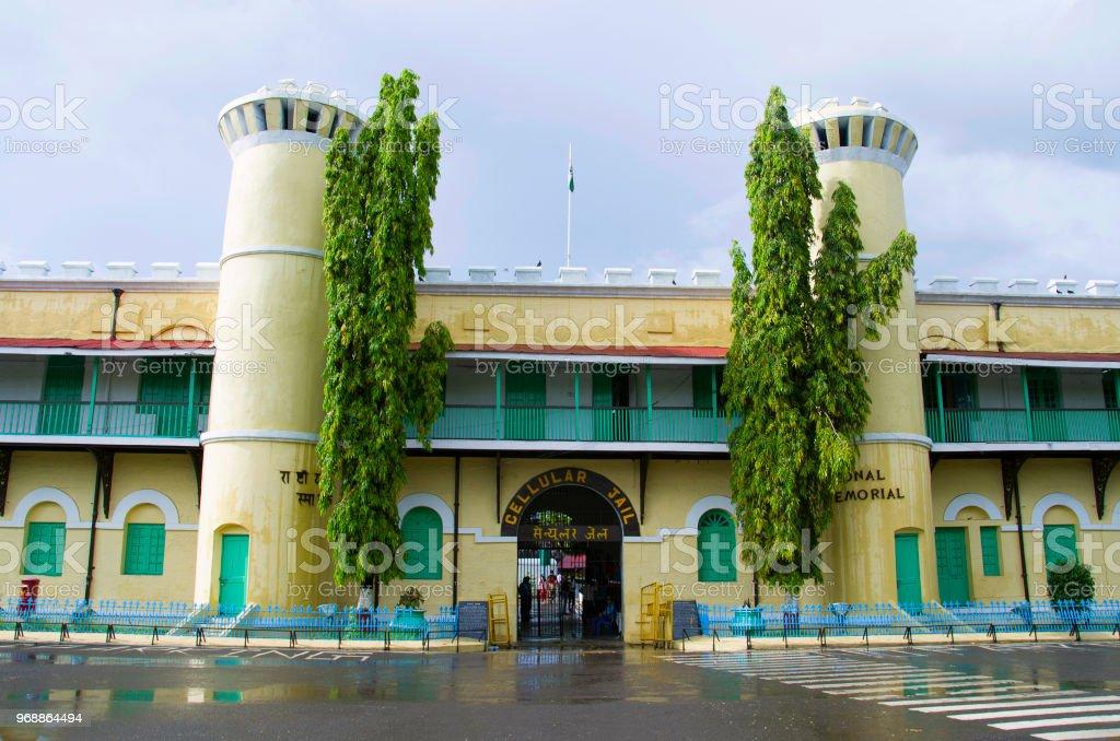 The Cellular Jail, also known as Kala Pani, Port Blair, Andaman and Nicobar Islands stock photo