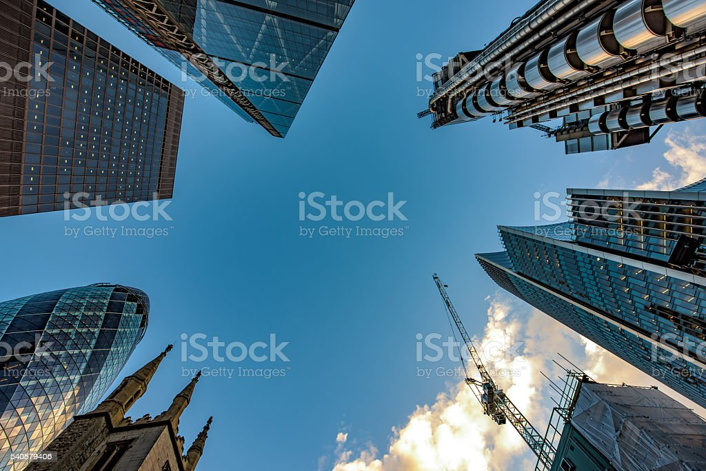 The center of the center stock photo