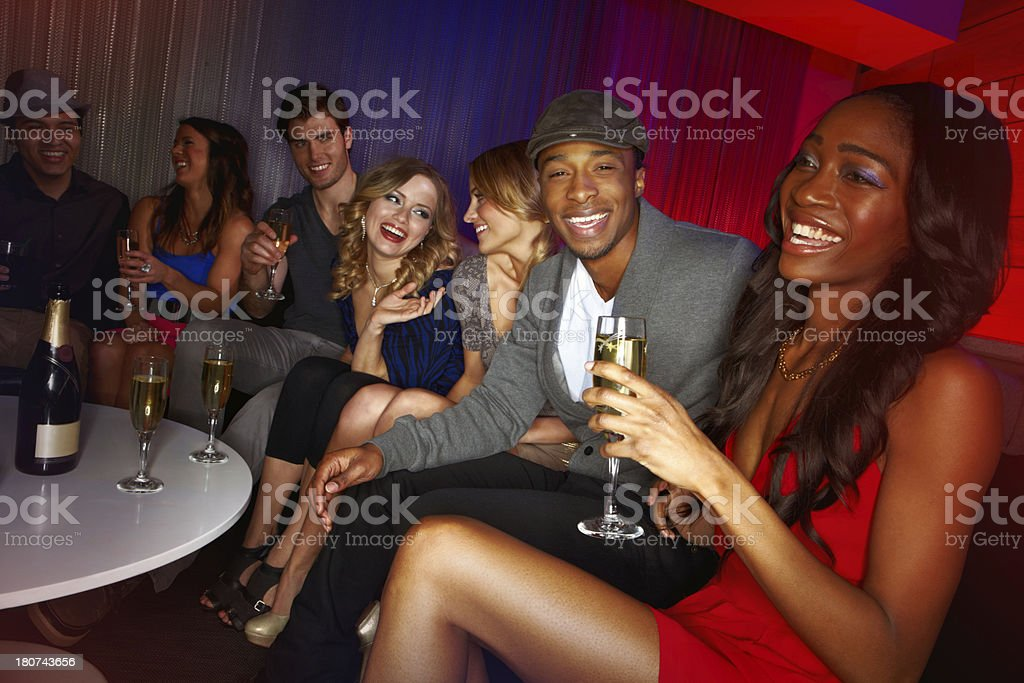 The centre of attention royalty-free stock photo