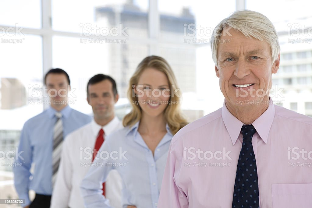 The Chairman royalty-free stock photo