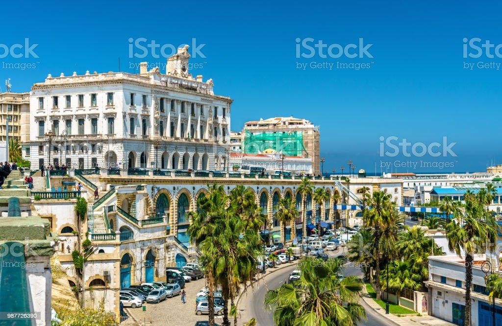 La chambre de Commerce, un bâtiment historique à Alger, Algérie - Photo