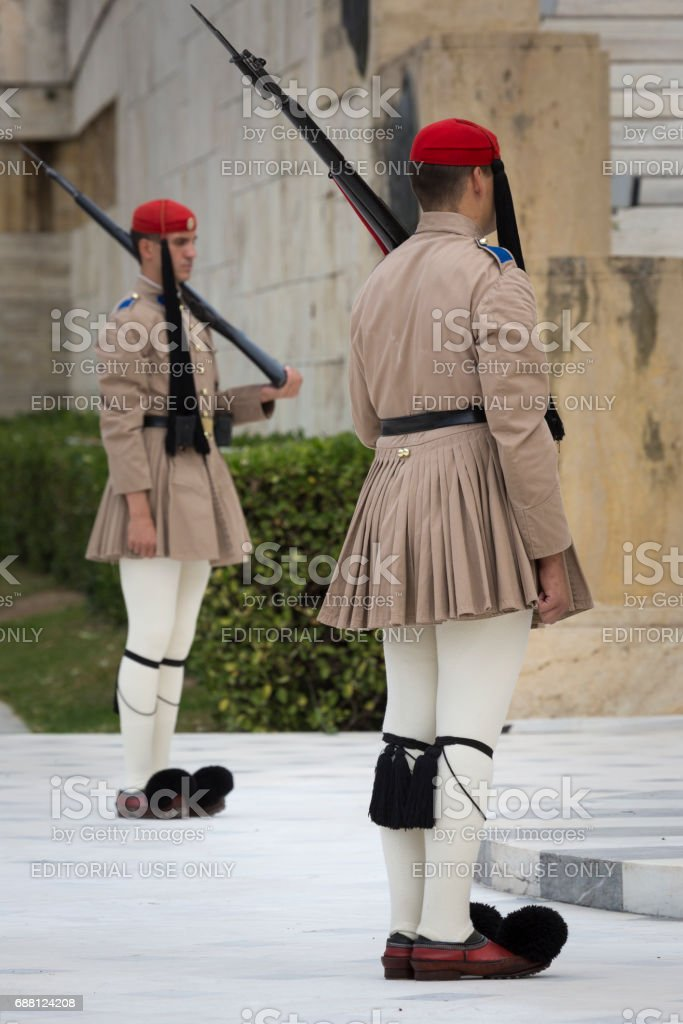 Athens Greece September 21 The Changing Of The Guard