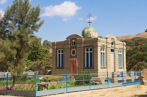 istock The Chapel of the Tablet, Aksum, Ethiopia. 528910799
