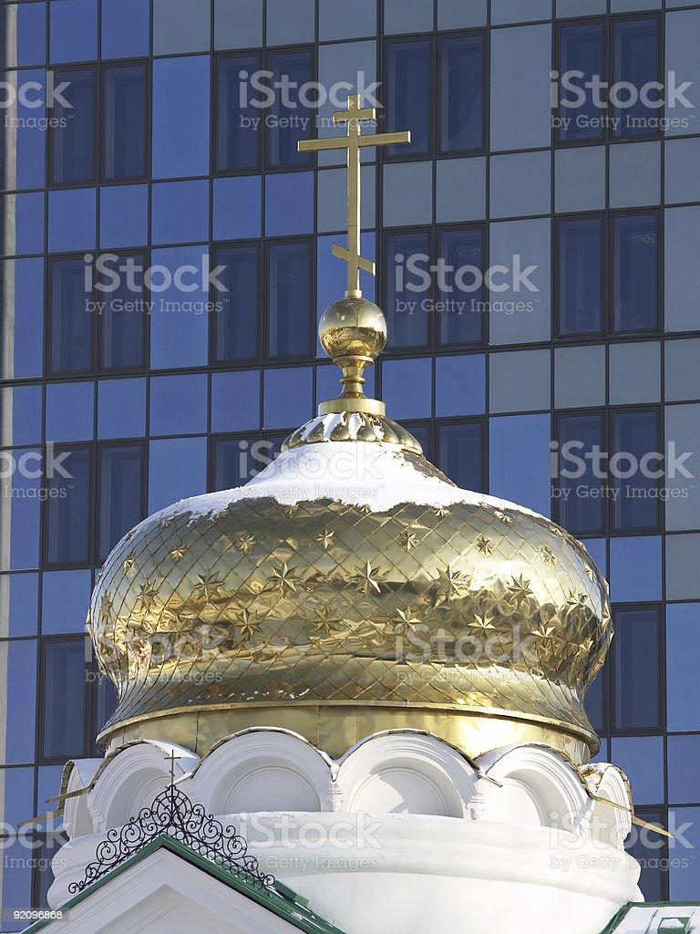 The chapel royalty-free stock photo