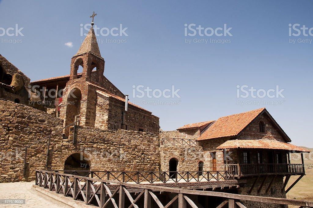 The chappel of  David Gareja monastery, Georgia royalty-free stock photo