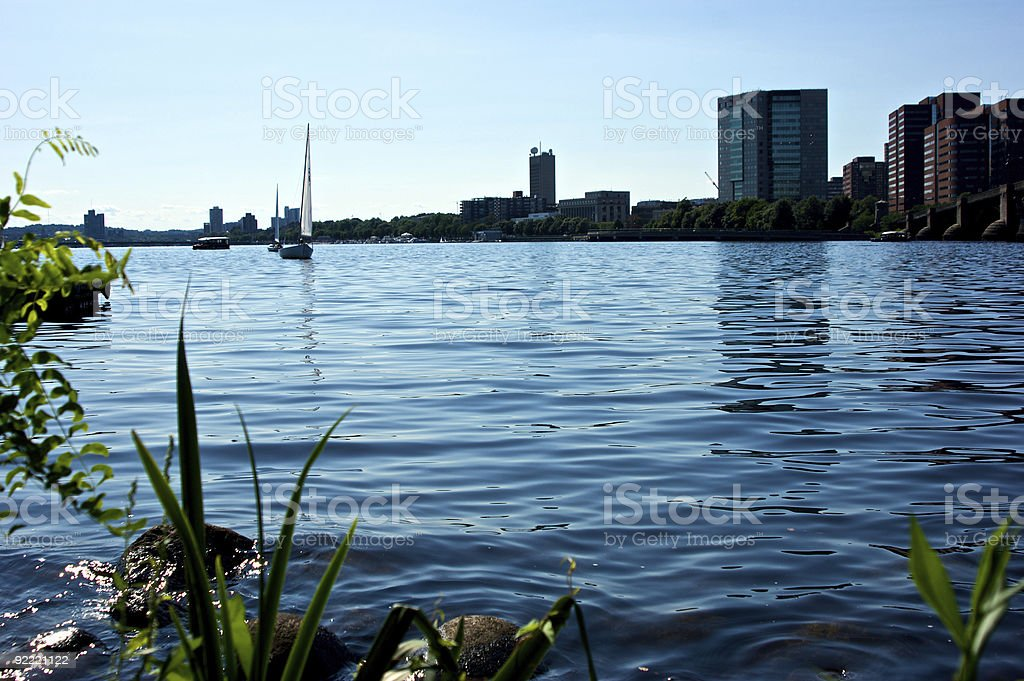 the charles stock photo