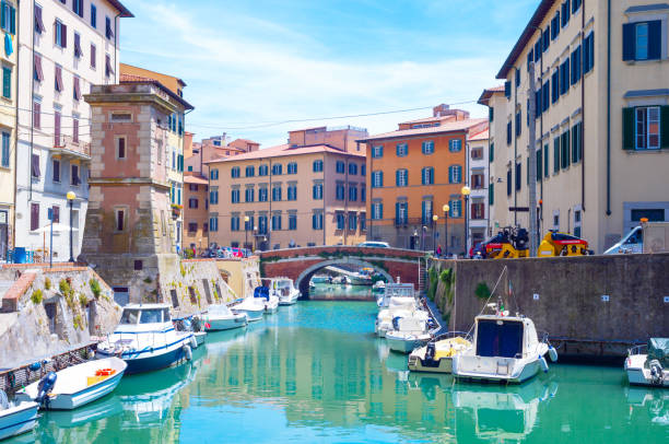 The charm of the lesser-known cities of Tuscany stock photo