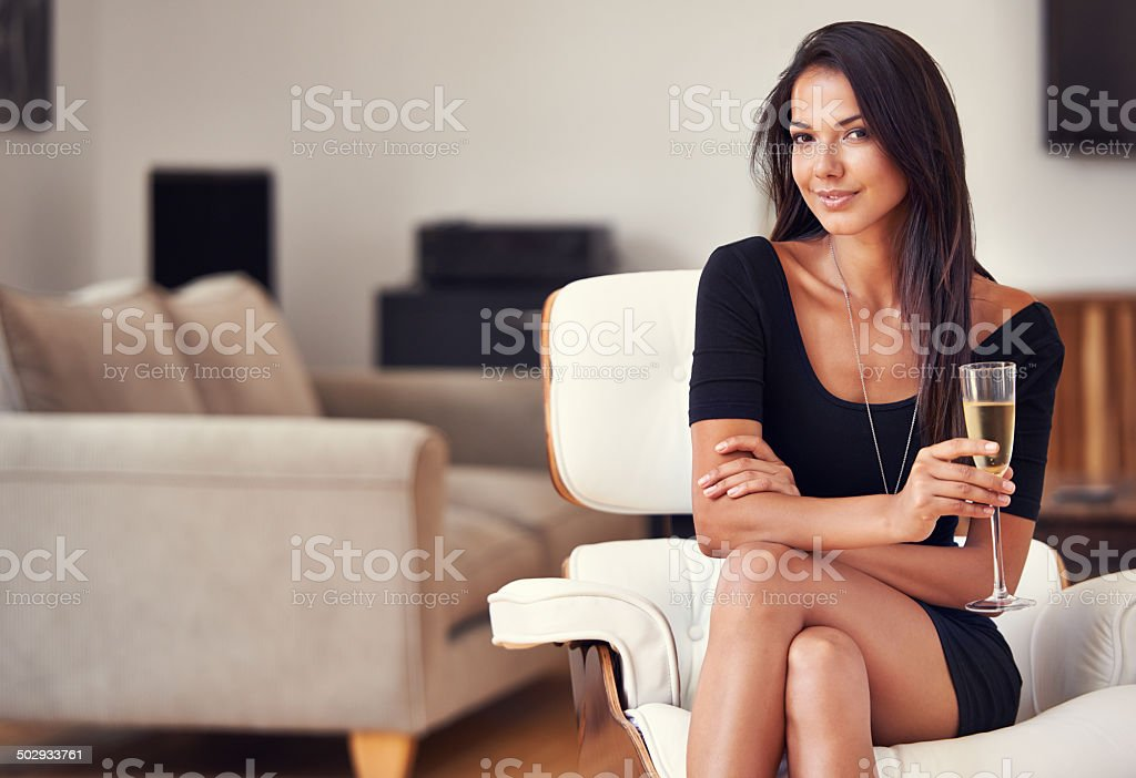The charmed life stock photo