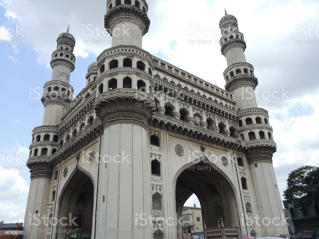 The Charminar Hyderabad Stock Photo - Download Image Now - iStock