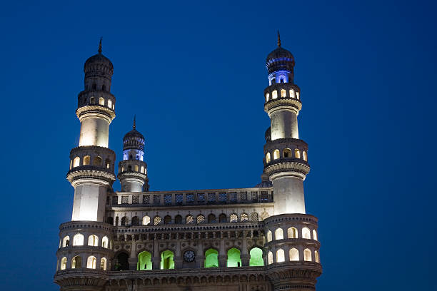 The Charminar in Hiderabad, India. The Charminar in Hiderabad, India. char minar stock pictures, royalty-free photos & images