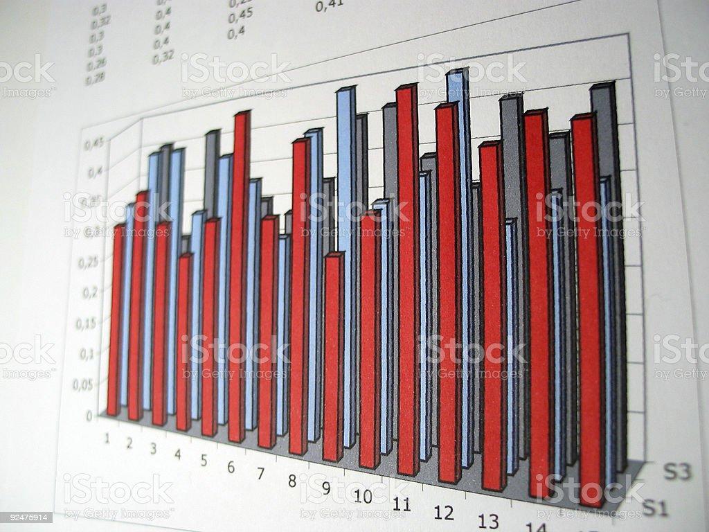 The Chart stock photo