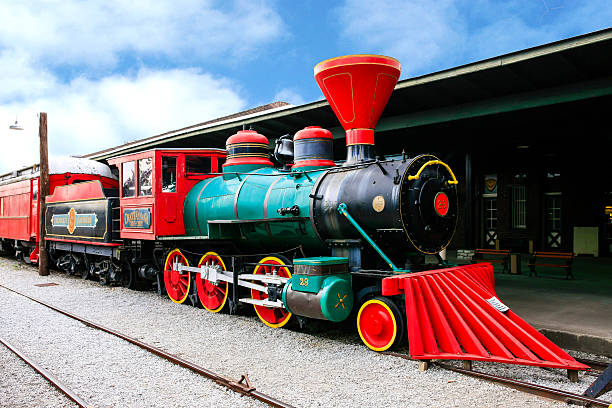 The Chattanooga Choo-Choo locomotive at the former Terminal Station, Tennessee Chattanooga, TN, USA - April 10, 2016: The Chattanooga Choo-Choo locomotive at the former Terminal Station, Tennessee chattanooga stock pictures, royalty-free photos & images