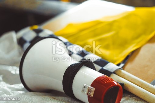 istock the checkered flag lies 954073710