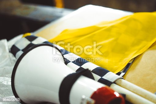 istock the checkered flag lies 954073752