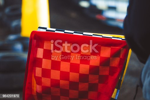 istock the checkered flag lies 954201970