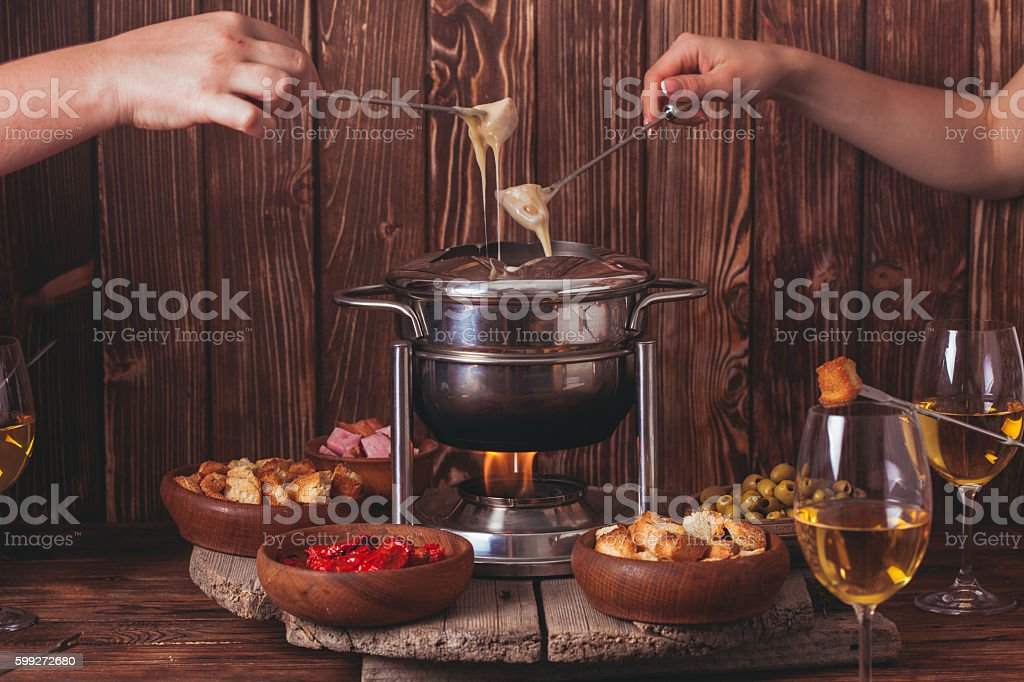 The cheese fondue – Foto