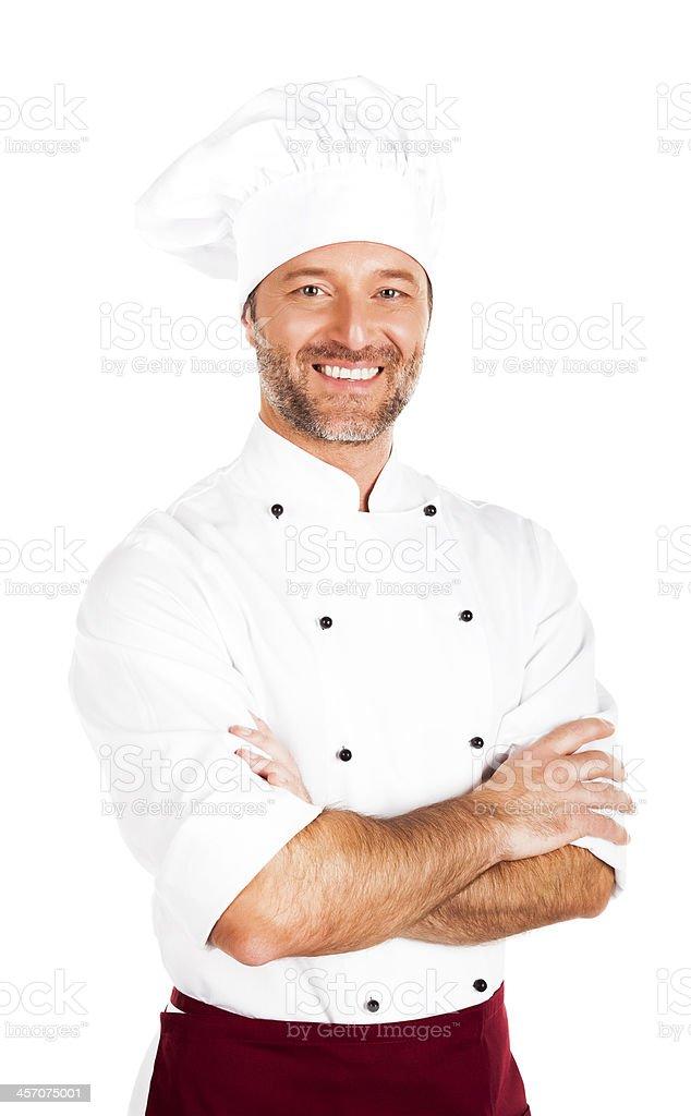 The Chef stock photo