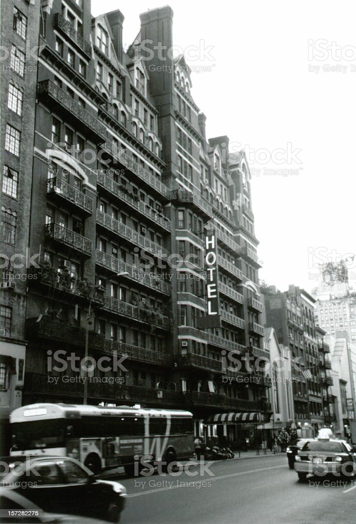 The Chelsea Hotel stock photo