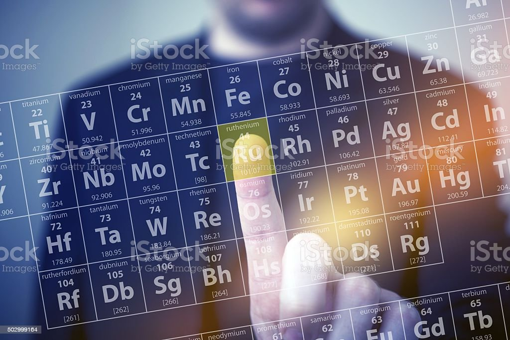 The Chemistry Touch stock photo