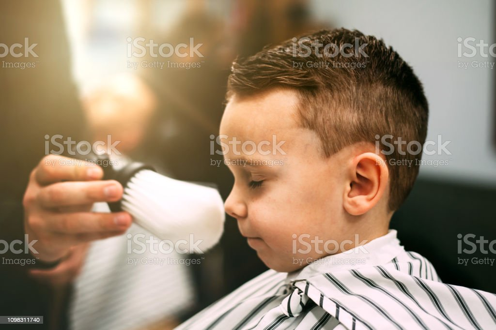 The Child Is Hairstyles Stock Photo - Download Image Now ...