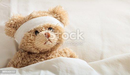 istock The child is sick concept 985069202