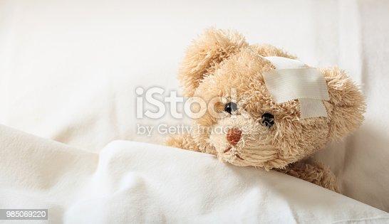 istock The child is sick concept 985069220