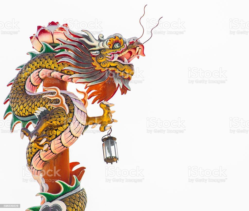 The chinease dragon Lizenzfreies stock-foto