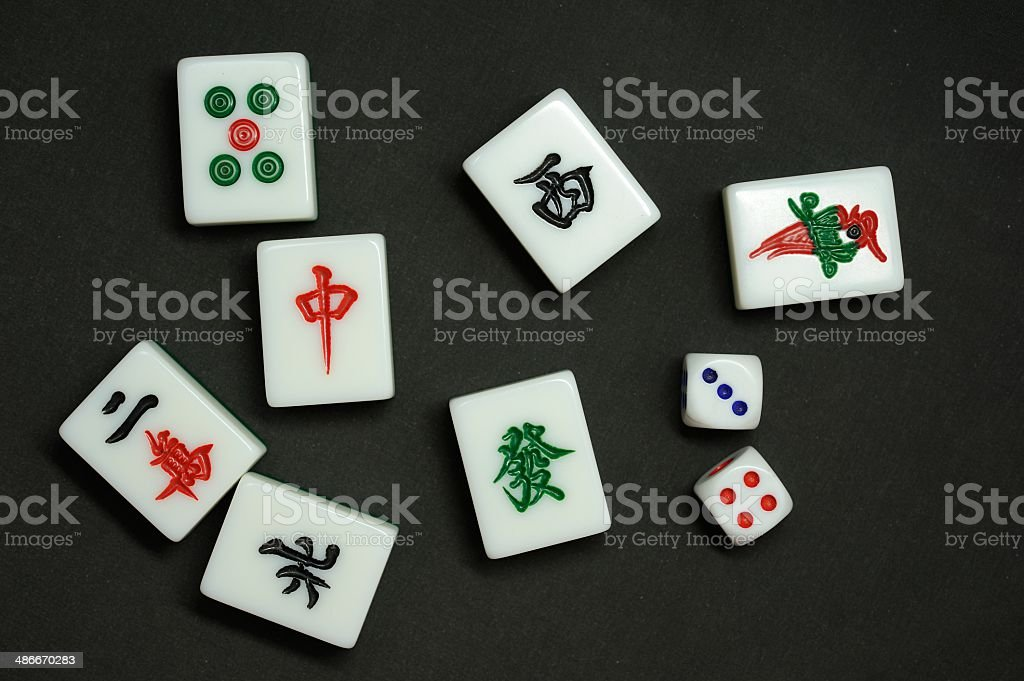 The Chinese Mahjong Stock Photo - Download Image Now - iStock