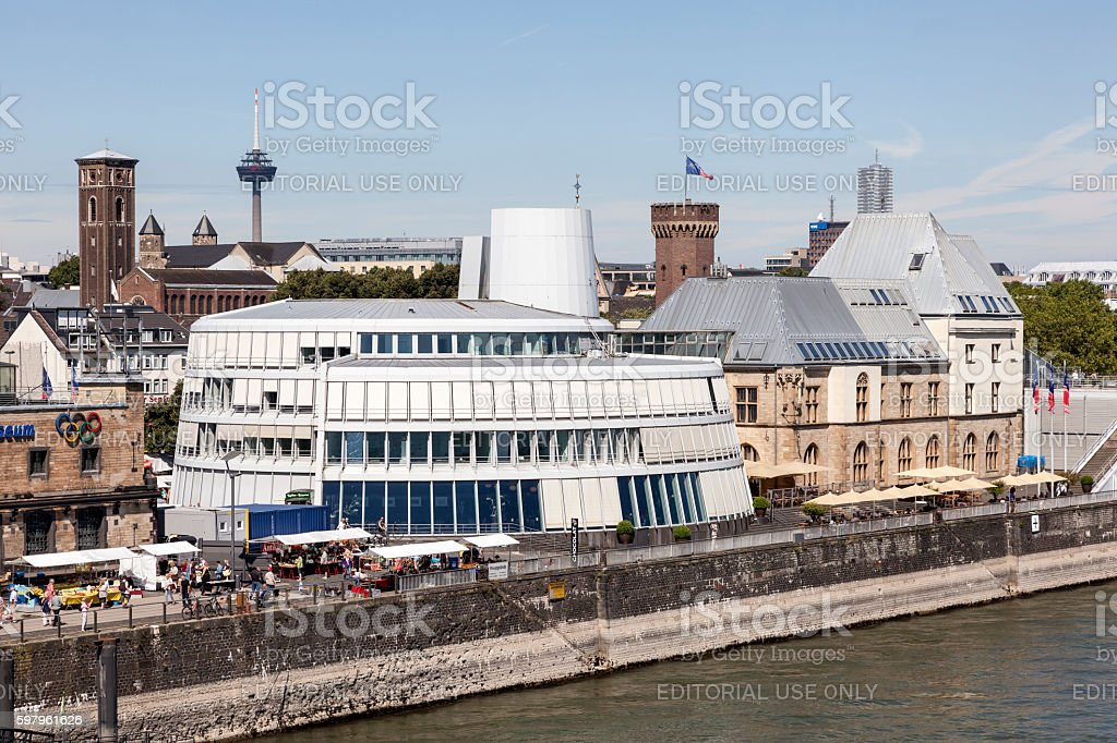 The Chocolate Museum In Cologne Germany Stock Photo