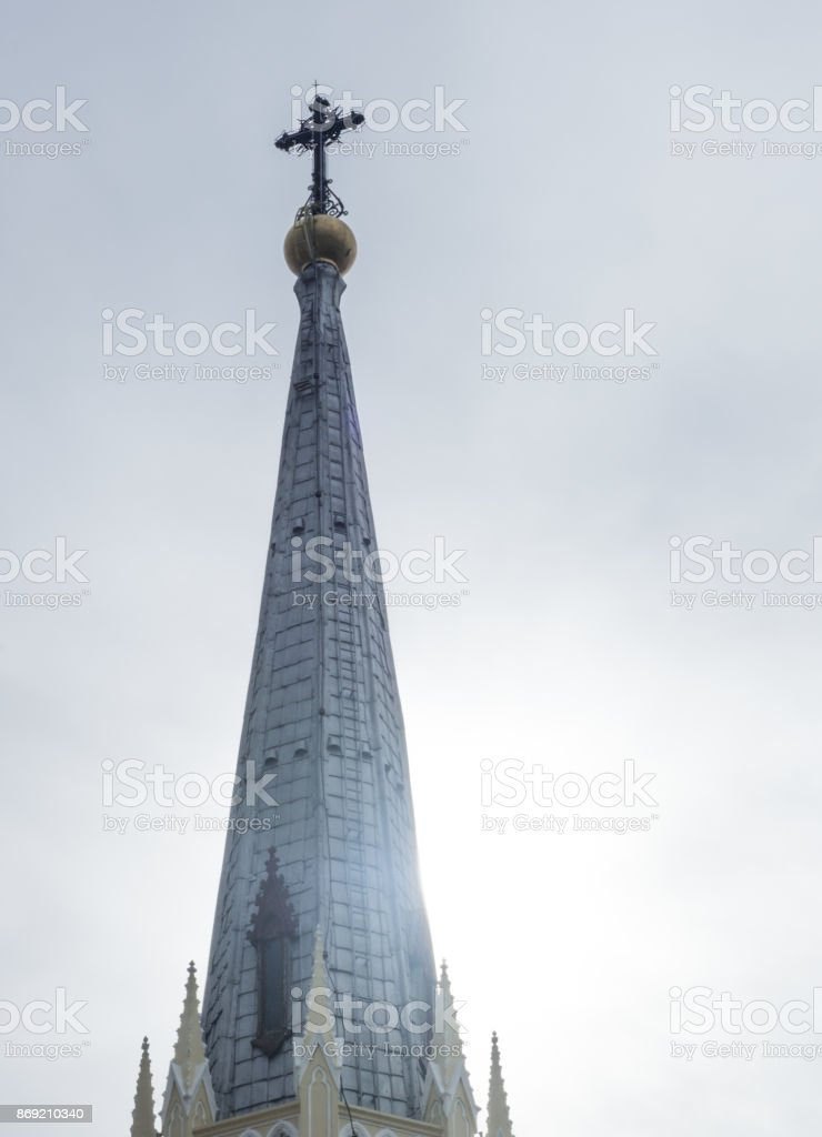 The Christ Church dome stock photo