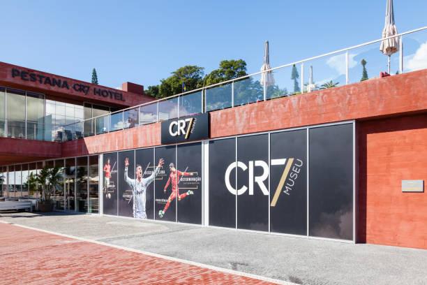the christiano ronaldo pestana cr hotel and museum in funchal, madeira - ronaldo imagens e fotografias de stock