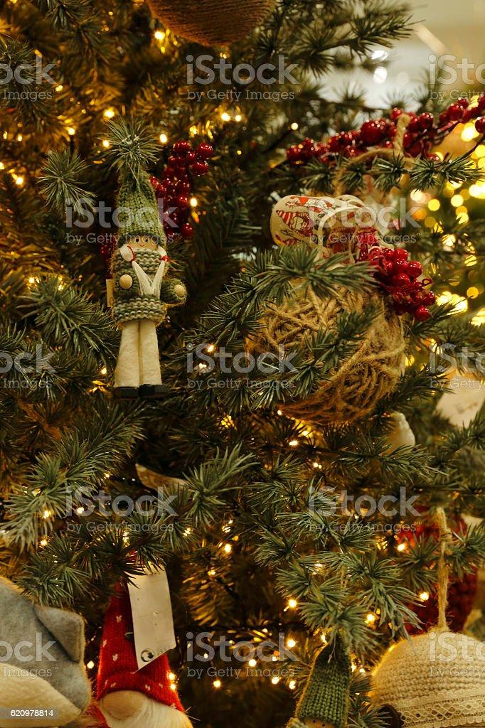 A árvore de Natal foto royalty-free